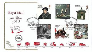 GB 2016 COTSWOLD ROYAL MAIL 500 SET 'OFFICIAL' FDC