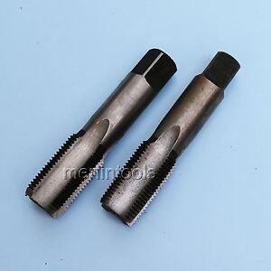 HSS 20mm x 2 Metric Taper /& Plug Tap Right Hand Thread M20 x 2mm Pitch