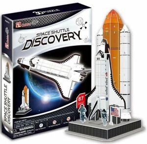 Space-Shuttle-Discovery-87-Piece-NASA-Orbiter-Vehicle-3D-Model-DIY-Hobby-Kit