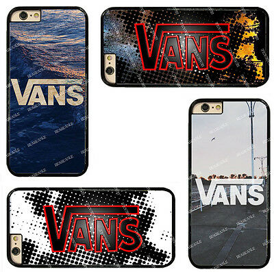 VANS Logo On Hard Phone Case Cover Fits For Touch/ iPhone/ Samsung/ Sony/ LG