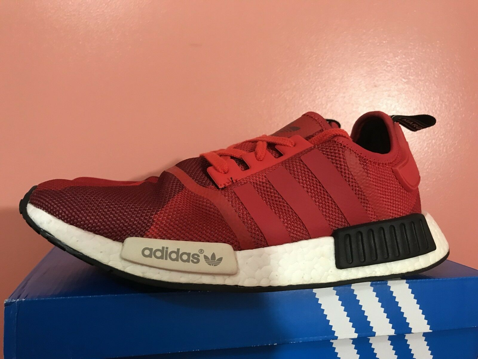 Adidas MEN'S NMD_R1 Nomad Runner Red Geometric Camo S79164 S79164 S79164 Size 11.5 9fc0f7