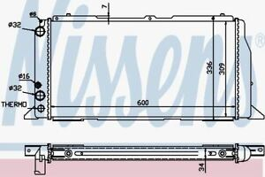 Nissens-60487-Radiador-AUDI-80-4cyl-1-6-1-8-86-91