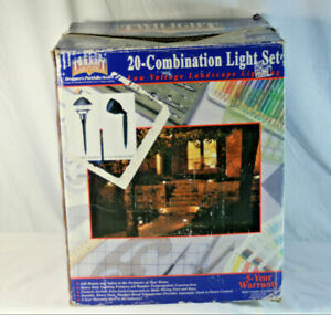 Details About Twilight Outdoor Low Voltage Lighting System 20 Lights Transformer Wire Open Box