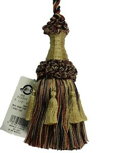"Conso Empress 22009 W13 Mingled VANILLA NATURAL DAWN Decorative 5.5/"" Tassel"