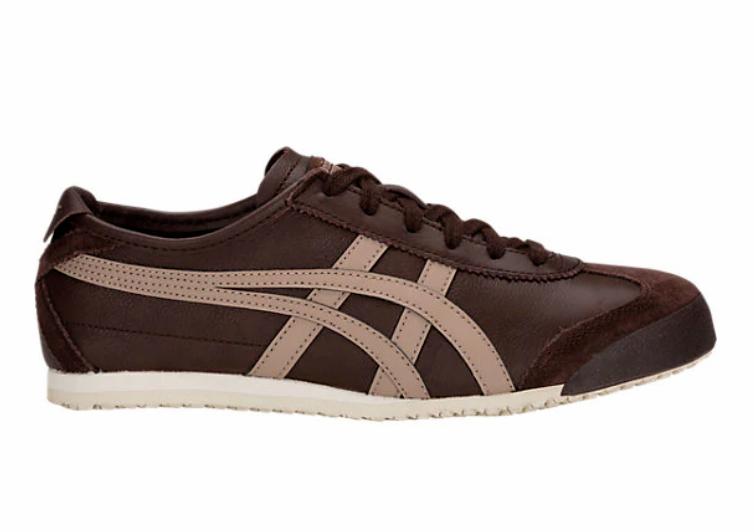 ONITSUKA 1183A201.201 México 66 Mn' Mn' Mn' (M Coffe taupe cuero zapatos de estilo de vida 1e1bb5