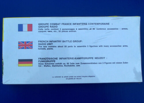 Funkgruppe Figuren Heller 1:35 138 French Infantry Battle Groupe Radio