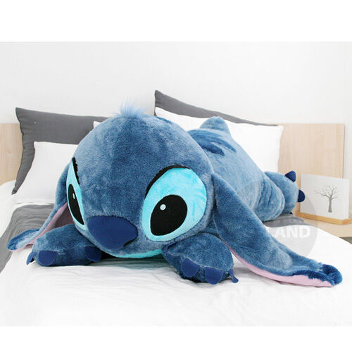 Flounder Stuffed Animal, Bnwt Soft 48inch Huge Giant Stitch Plush Toy Cushion Bed Body Pillow Decoration Toys Games Toys Games Tv Movie Character Toys