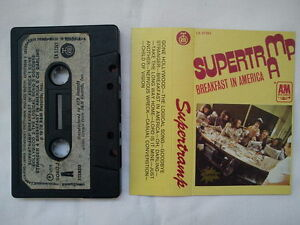 SUPERTRAMP - BREAKFAST IN AMERICA,  RARE YUGOSLAVIAN CASSETTE, DIFFERENT COVER