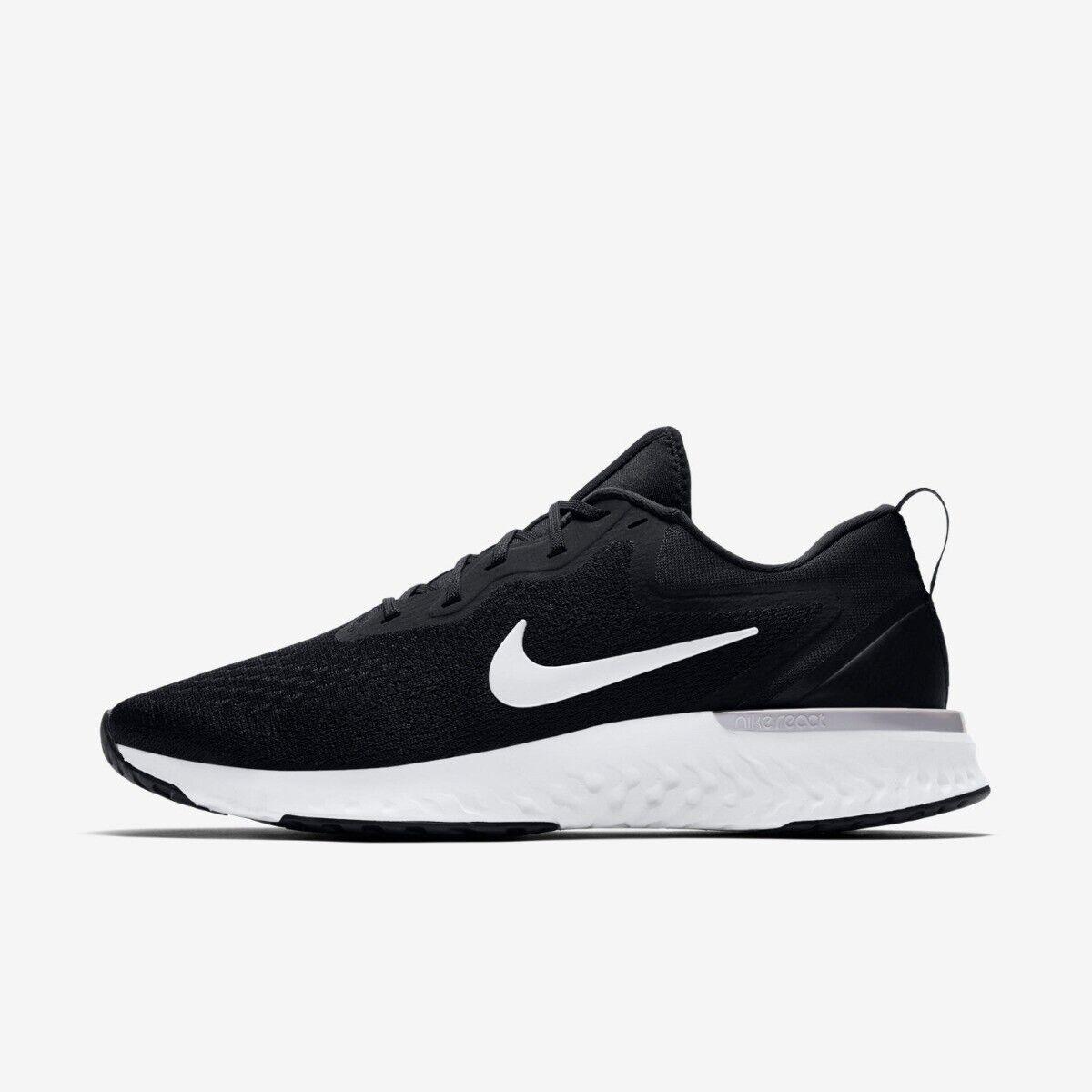 Nike Odyssey React Mens Trainer shoe Size 9 9.5 10 12 Black White Greys