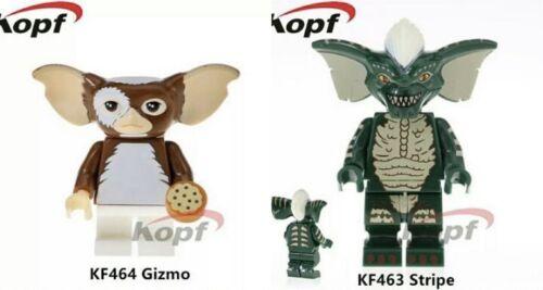 Simil LEGO Gremlins Gizmo Stripe Compatibili Minifigures New