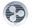 Silver Ripple Commemorative Round Collectors Coin XRP Coin Silver Plated Coin bw