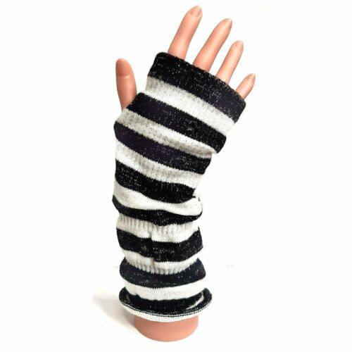 Christmas Winter Gift Evening wear Long Fashion Fingerless Sparkling Gloves