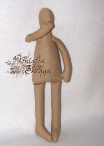 Blank Doll Body Pre-Sewn Tilda Angel Pre-Made Stuffed Tilda Doll Body Cloth Doll