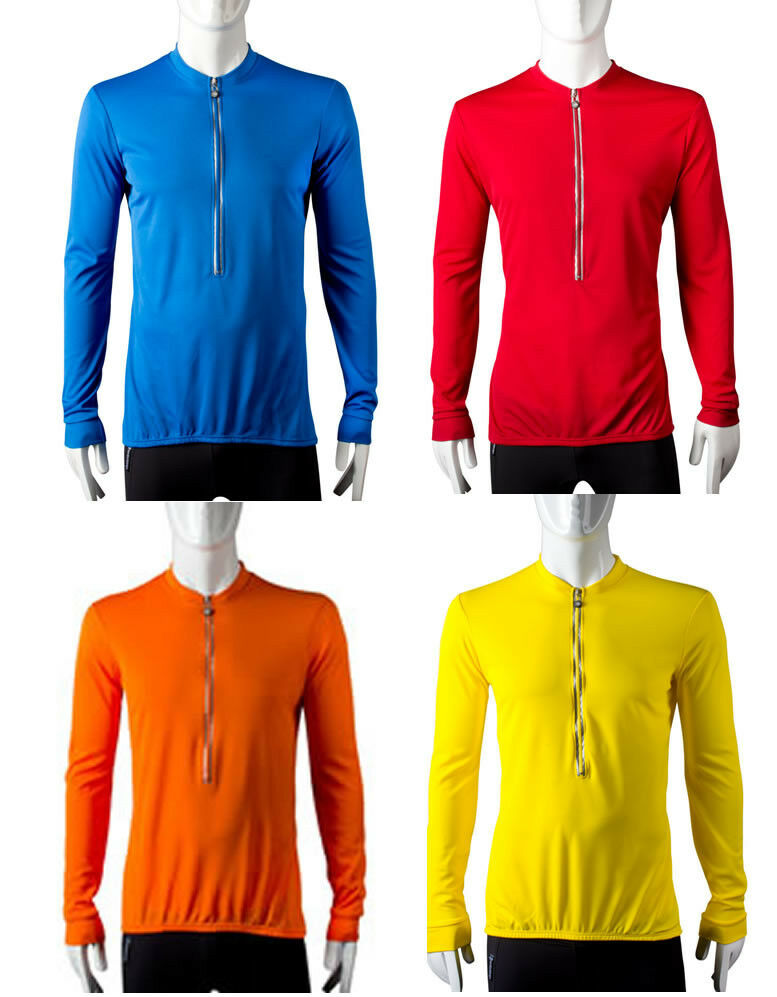ATD Tall Long Sleeve Cycling Biking Jersey Breathable
