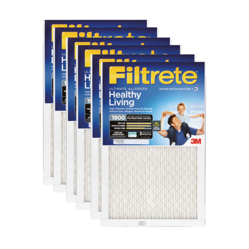 3M Filtrete 12x24x1 Ultimate Allergen Reduction Air Filter 6 Pack