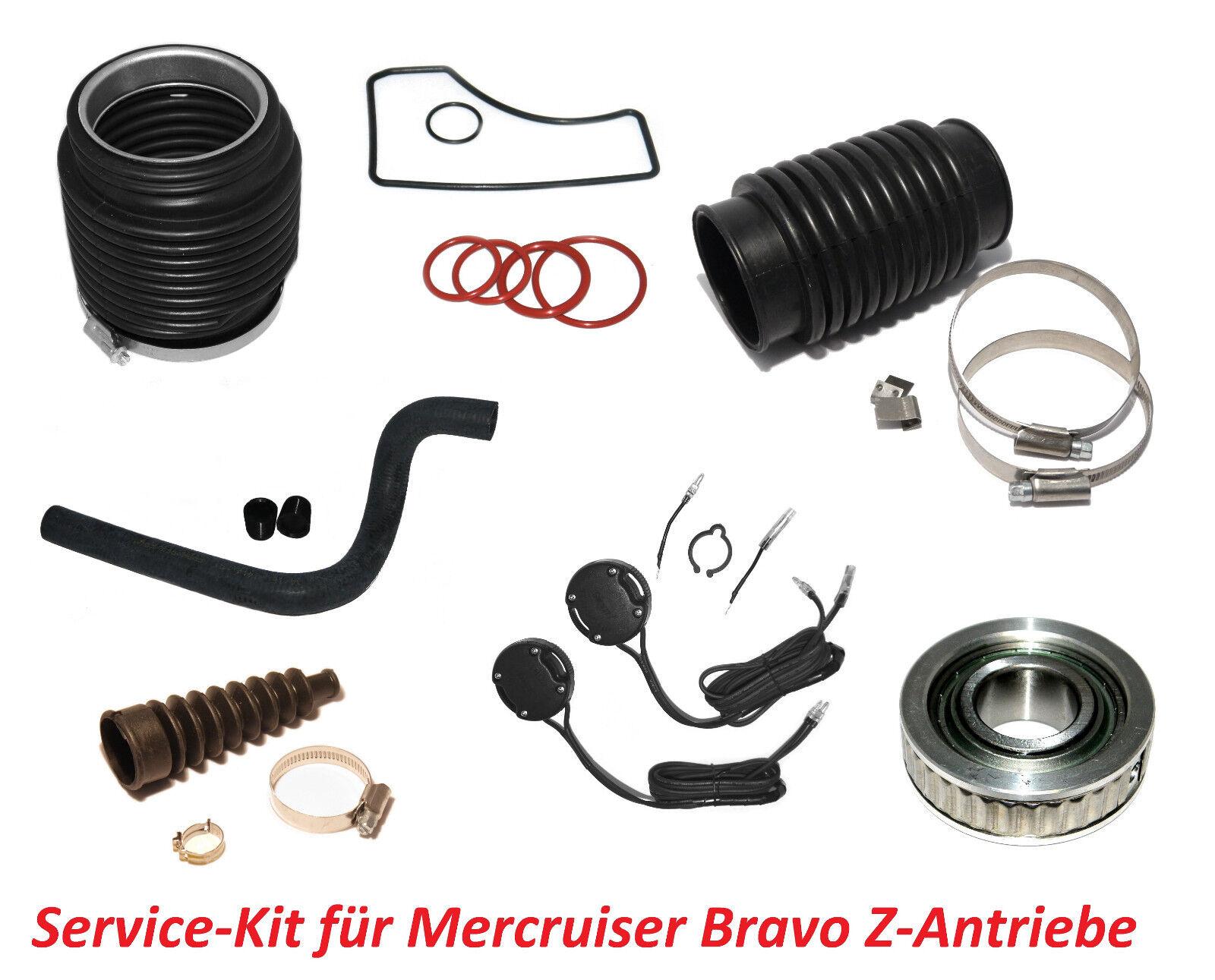 Service-Kit Mercruiser Bravo Z-Antriebe Gimbal Lager Trimgeber Innenborder OEM