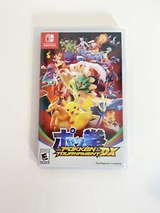 Nintendo-Switch-Pokken-Tournament-DX-Pokemon-Fighting-CASE-ONLY-NO-Game-Cart