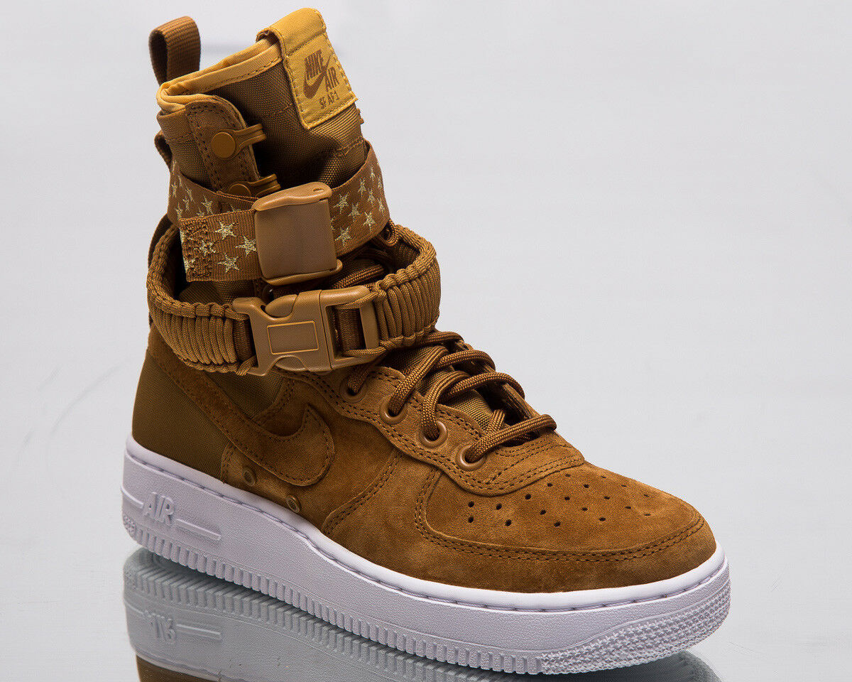 Nike SF Air Force 1 femmes Lifestyle chaussures Muted Bronze 2018 baskets 857872-203