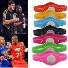 Power Health Energy Bracelet Silicone  Boy Men Women Balance Wrist Band 7 Colors