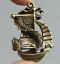 48MM-Curio-Chinese-Bronze-Animal-Lucky-Dragon-Boat-Ship-Wealth-Small-Pendant thumbnail 2