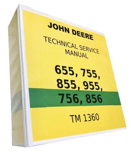 755 John Deere Technical Service Shop Repair Manual