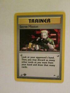 006PK118f-Secret-Mission-118-132-Gym-Heroes-1st-Ed-Uncommon