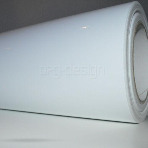 4,59€//m² Plotterfolie Möbelfolie Klebefolie Bastelfolie Folie Weiß Glänzend