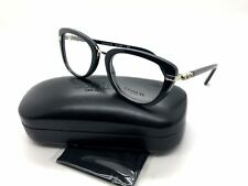 2a023df82f10 Coach Hc6106b 5177 Black/silver Rectangle Optical Frames for sale ...