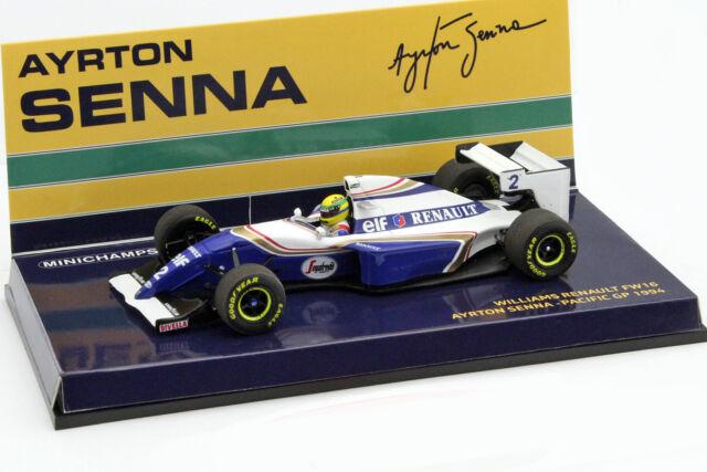 Ayrton Senna Williams FW16 #2 Pazifik GP Formel 1 1994 1:43 Minichamps