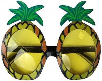 Warnen Neu Strand Hawaii Party Luau Ananas Maskenkostüm Brille Sonnenbrille
