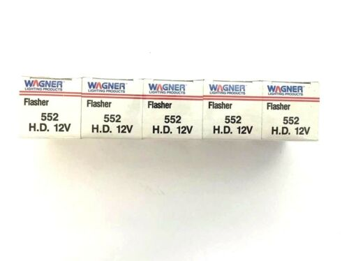 WAGNER CAR SIGNAL FLASHERS 552 H.D Lot of 5 12 V SIGNAL FLASHER  MADE IN USA
