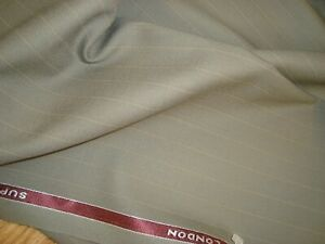 4-7-yd-HOLLAND-SHERRY-WOOL-FABRIC-Cool-Wool-Super-100s-7-5-oz-SUITING-170-034-BTP