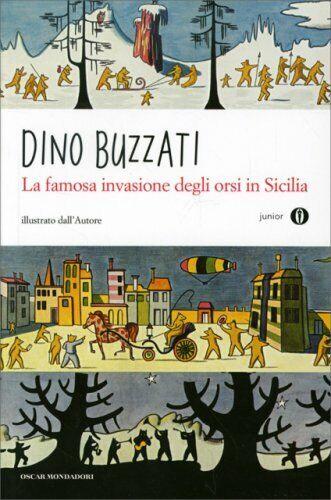 LIBRO LA FAMOSA INVASIONE DEGLI ORSI IN SICILIA - DINO BUZZATI