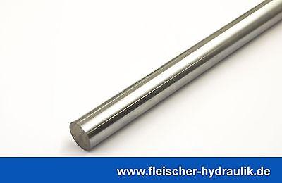 Kolbenstange verchromt Material 20MnV6, ø40mm, f Hydraulik Zylinder 500-1000mm
