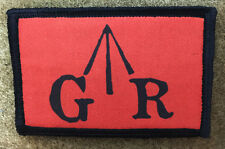 British GR Revolutionary War Morale Patch Tactical Military Army Badge Hook Flag