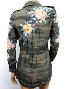 f8897787621 Image is loading NWT-Johnny-Was-Workshop-Brenna-Drawstring-Military-Jacket-