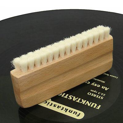 Genuine Goat/'s Hair Vinyl Record Cleaning Brush--Anti Static