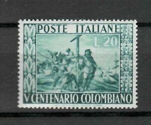 s21576-ITALIA-1951-MNH-Nuovi-Colombo-1v