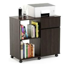 Printer Stand With Storage Office Cabinet Wooden Filing Cabinet With Wheels