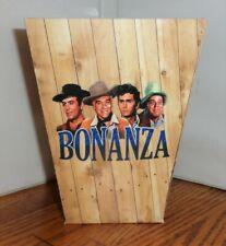 Bonanza Popcorn Box 4 Ponderosa Landon Roberts Blocker Greene Free Ship