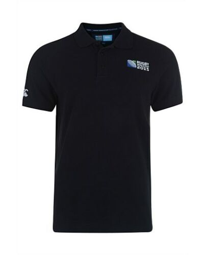 Canterbury Rugby World Cup 2015 No8 Plain Polo Adults