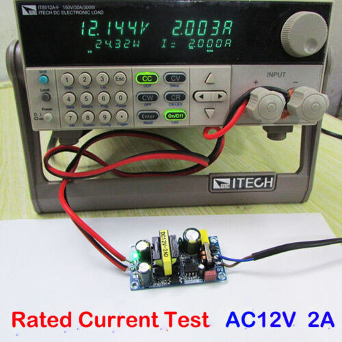 AC-DC 12V 2A Buck Step Down Converter 24W Isolated Power Supply Switching Module