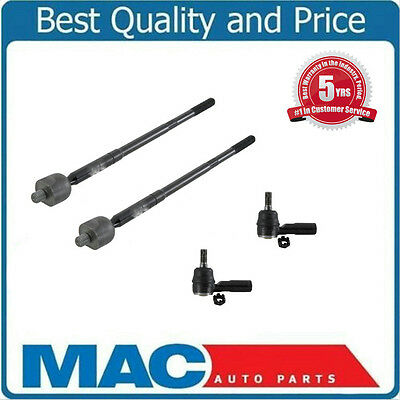 6pc Inner Outer Tie Rods Tierod Ends Boots for Lexus ES250 Toyota Camry Celica