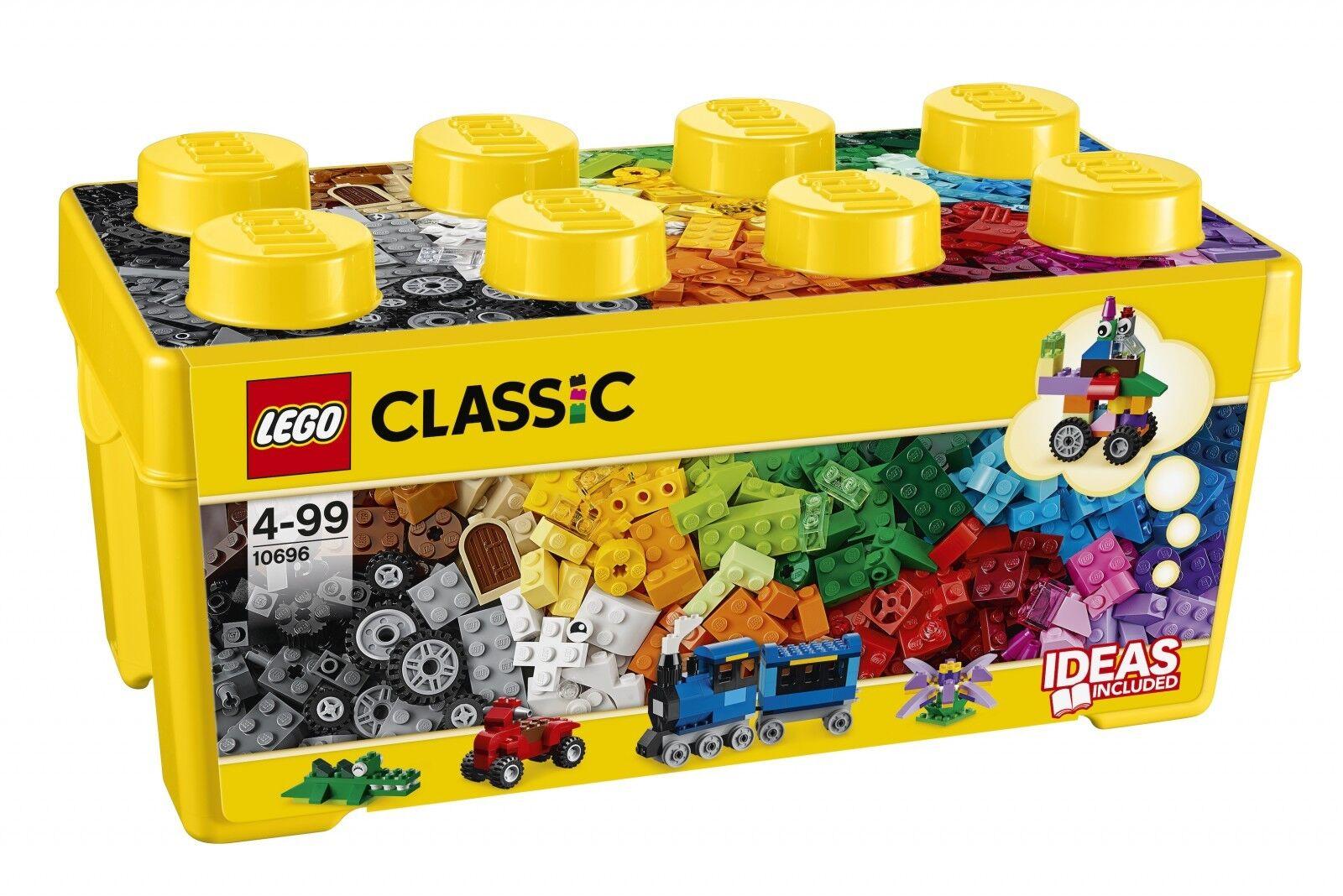 LEGO ® ® ® CLASSIC 10696 LEGO ® moyens blocs de construction-BOX NOUVEAU neuf dans sa boîte NEW En parfait état, dans sa boîte scellée Boîte d'origine jamais ouverte 7411df