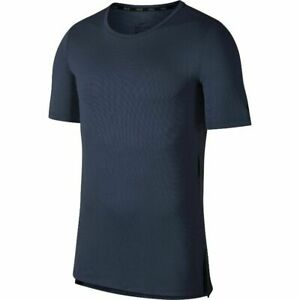 Mens-Nike-DRI-FIT-Utility-Training-Short-Sleeve-T-Shirt-Thunder-Blue-AA1591-471