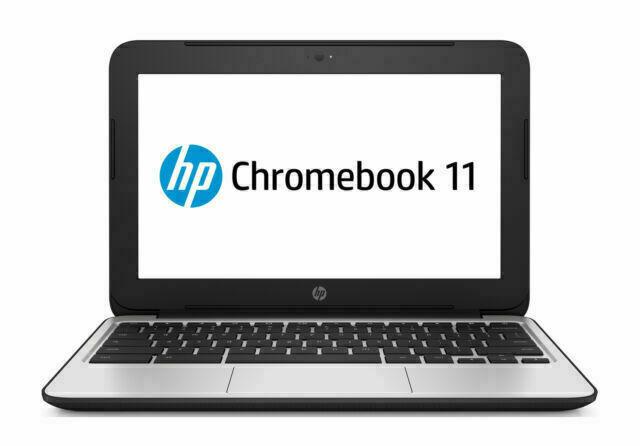 HP Chromebook 11 G4 11.6 Inch 16GB Intel Celeron, 2.16GHz, 4GB Webcam Grade B