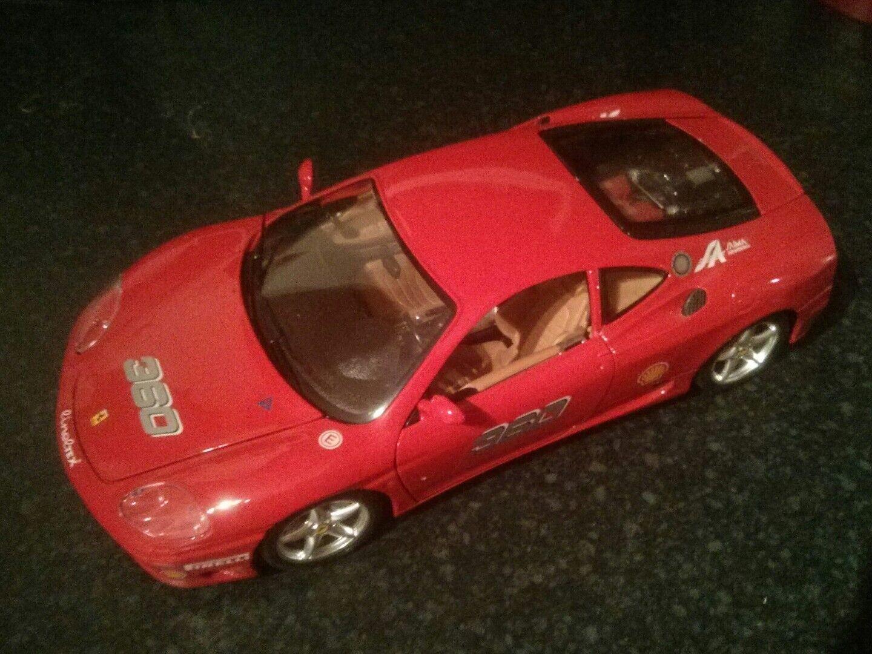 Burago 3378 1 18 Ferrari 360 Modena Challenge
