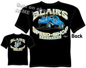 Gasser Hot Rod Drag Racing Vintage Don/'s Speed Shop California Decal T-Shirt
