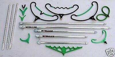 Assorted Dinsmore ArrowPoint Banksticks Bank Stick  /& Rod Rest Heads Set 3