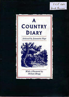 1 of 1 - A COUNTRY DIARY., Page, Jeannette., Used; Very Good Book